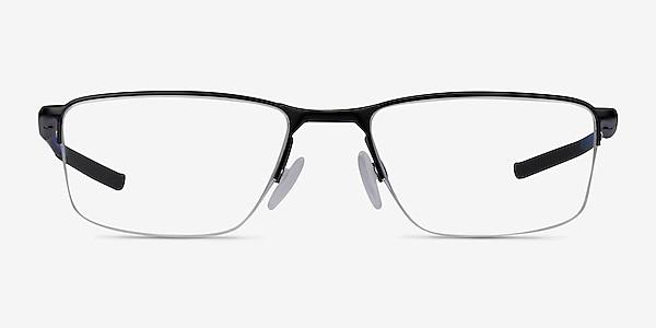 Oakley Socket 5.5 Satin Black & Blue Metal Eyeglass Frames