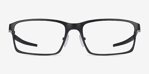 Oakley Base Plane Satin Black Metal Eyeglass Frames
