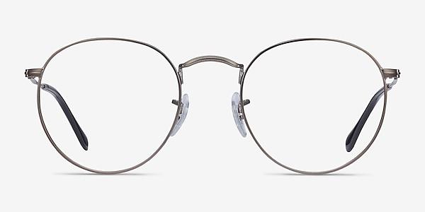 Ray-Ban RB3447V Gunmetal Metal Eyeglass Frames