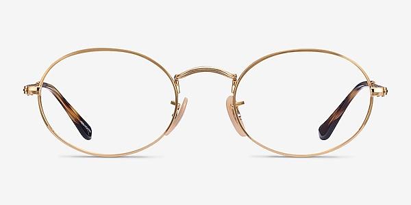 Ray-Ban RB3547V Gold Metal Eyeglass Frames