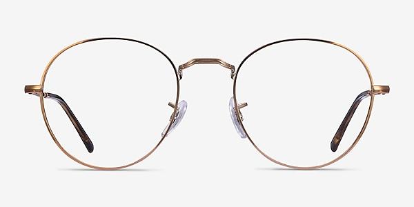 Ray-Ban RB3582V Bronze Copper Metal Eyeglass Frames