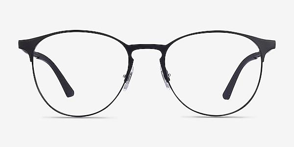 Ray-Ban RB6375 Black Metal Eyeglass Frames