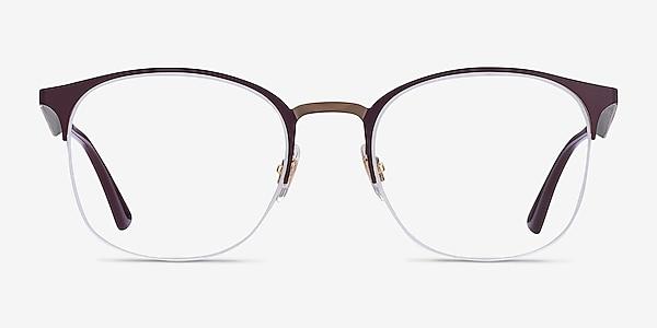 Ray-Ban RB6422 Bordeaux Gold Metal Eyeglass Frames