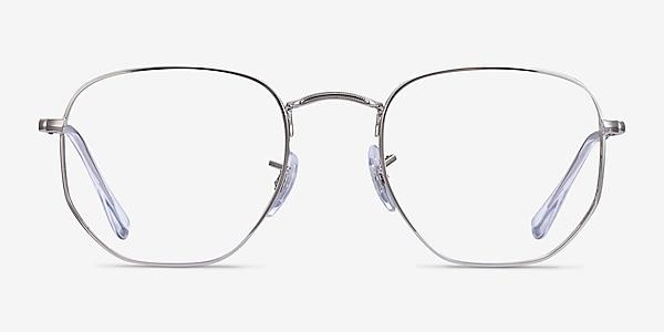 Ray-Ban RB6448 Silver Metal Eyeglass Frames