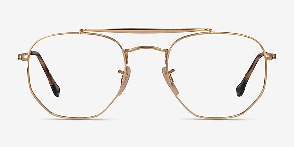 Ray-Ban RB3648V Gold Metal Eyeglass Frames