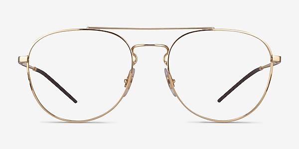 Ray-Ban RB6414 Gold Metal Eyeglass Frames