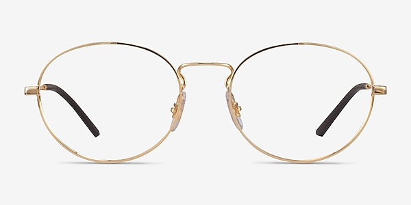Ray-Ban RB6439 Gold Metal Eyeglass Frames