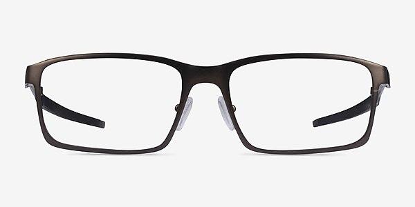 Oakley Base Plane Gunmetal Metal Eyeglass Frames