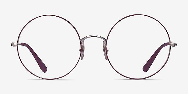 Ray-Ban RB6392 Purple Silver Metal Eyeglass Frames