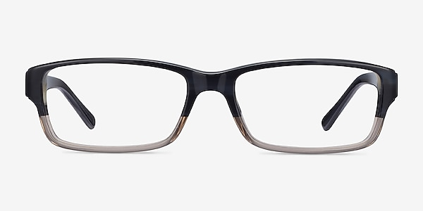 Ray-Ban RB5169 Black & Gray Acetate Eyeglass Frames