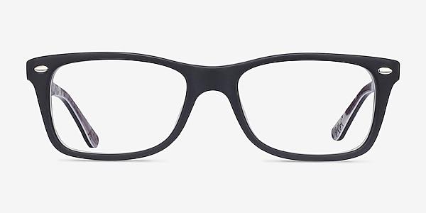 Ray-Ban RB5228 Black & Gray Acetate Eyeglass Frames
