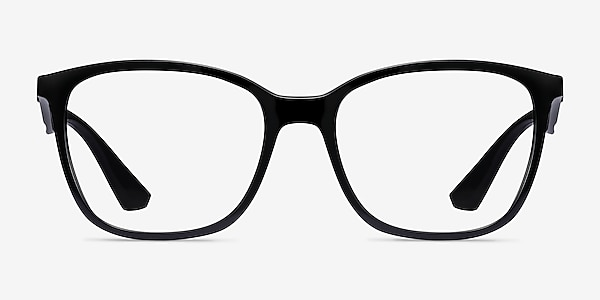Ray-Ban RB7066 Black Plastic Eyeglass Frames