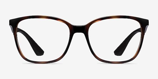 Ray-Ban RB7066 Tortoise Brown Plastic Eyeglass Frames