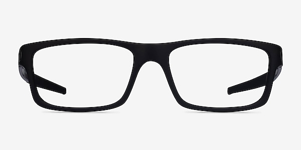 Oakley Currency Satin Black Plastic Eyeglass Frames