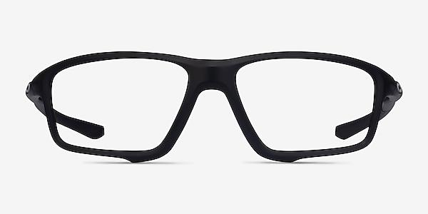 Oakley Crosslink Zero Satin Black Plastic Eyeglass Frames