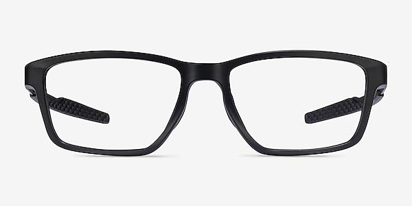 Oakley Metalink Satin Black Plastic Eyeglass Frames