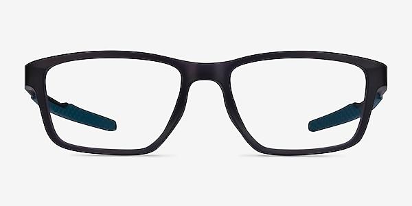 Oakley Metalink Satin Gray Smoke Plastic Eyeglass Frames