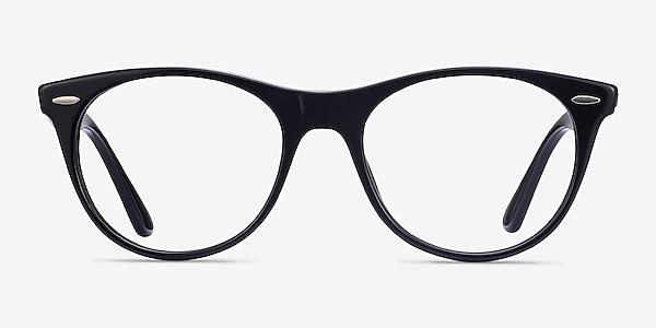 Ray-Ban RB2185V Black Acetate Eyeglass Frames