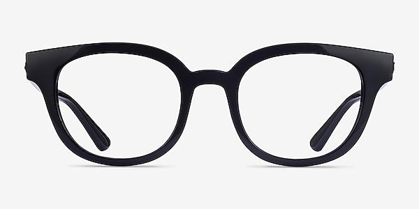 Ray-Ban RB4324V Black Plastic Eyeglass Frames