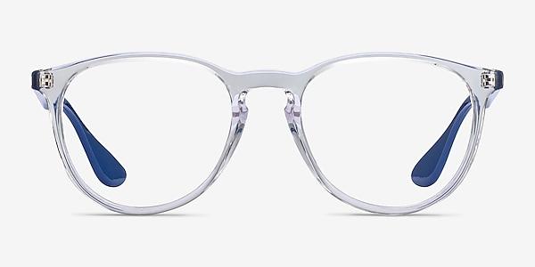 Ray-Ban RB7046 Clear Blue Plastic Eyeglass Frames