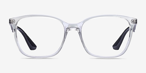 Ray-Ban RB7066 Clear Black Plastic Eyeglass Frames