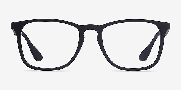 Ray-Ban RB7074 Black Plastic Eyeglass Frames