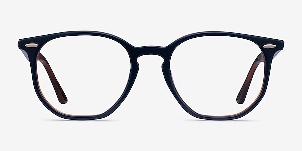 Ray-Ban RB7151 Blue Tortoise Acetate Eyeglass Frames