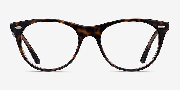 Ray-Ban RB2185V Leopard Acetate Eyeglass Frames