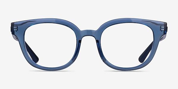 Ray-Ban RB4324V Clear Blue Acetate Eyeglass Frames