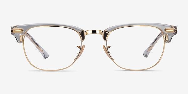 Ray-Ban RB5154 Gold Transparent Acetate-metal Eyeglass Frames