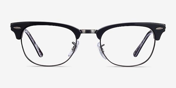 Ray-Ban RB5154 Black Multicolor Acetate-metal Eyeglass Frames