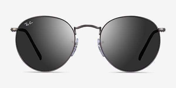 Ray-Ban RB3447 Matte Gunmetal Metal Sunglass Frames