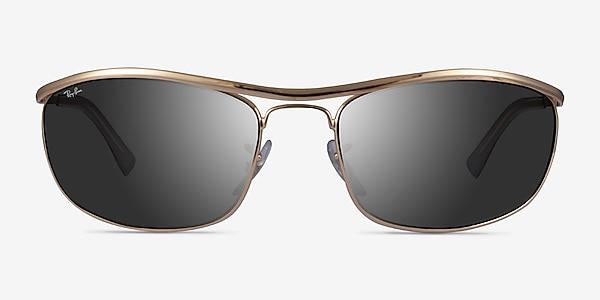 Ray-Ban RB3119 Gold Metal Sunglass Frames