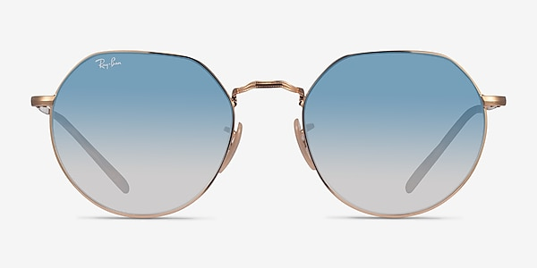 Ray-Ban RB3565 Jack Gold Metal Sunglass Frames