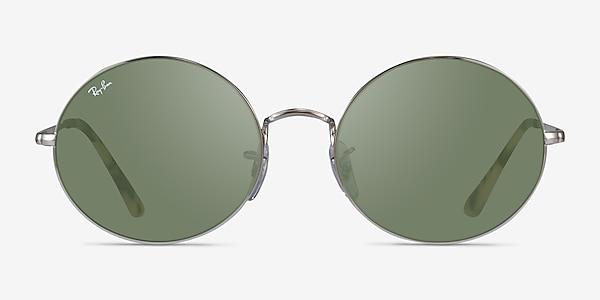 Ray-Ban RB1970 Silver Ivory Tortoise Metal Sunglass Frames