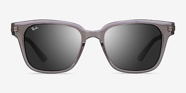 Ray-Ban RB4323 Transparent Gray Plastic Sunglass Frames