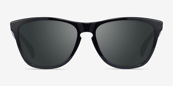 Oakley Frogskins Polished Black Plastic Sunglass Frames