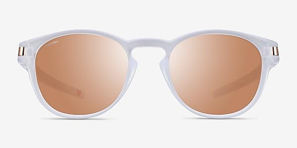 Oakley Latch Matte Clear Plastic Sunglass Frames