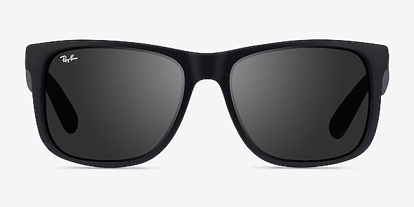 Ray-Ban Justin Matte Black Plastic Sunglass Frames