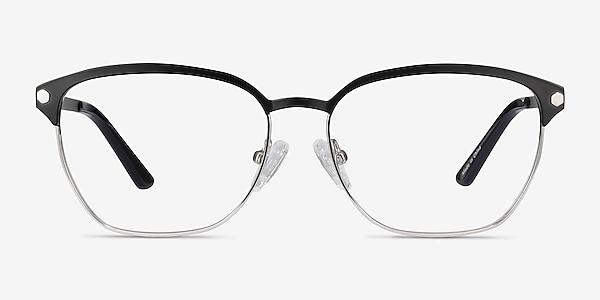 Berkeley Black Metal Eyeglass Frames