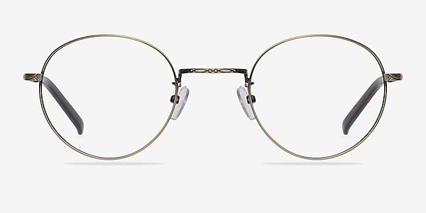 Amsterdam Bronze Metal Eyeglass Frames