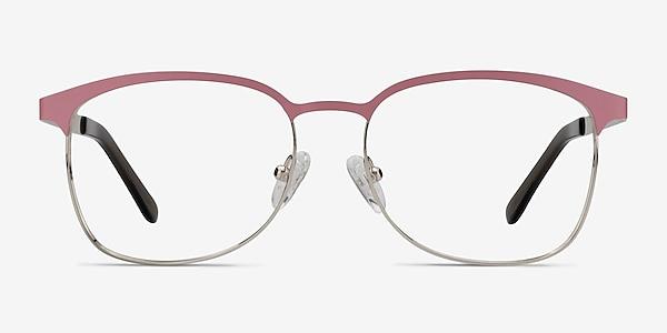 Dancer Pink/Silver Métal Montures de lunettes de vue