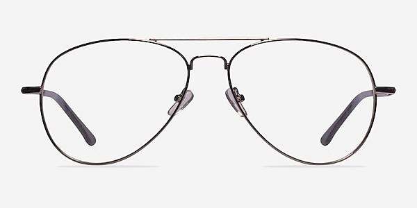 Nantes Silver Metal Eyeglass Frames
