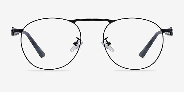 Tarantino Matte Black Métal Montures de lunettes de vue