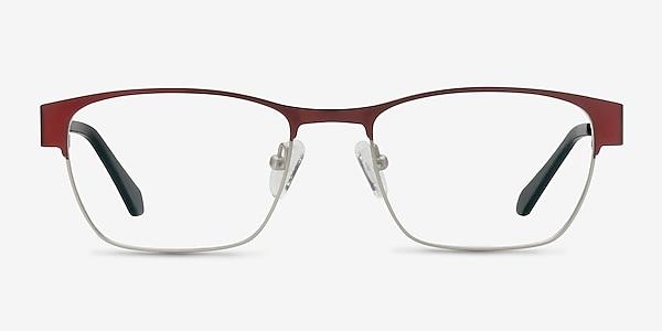 Admire Matte Burgundy Metal Eyeglass Frames