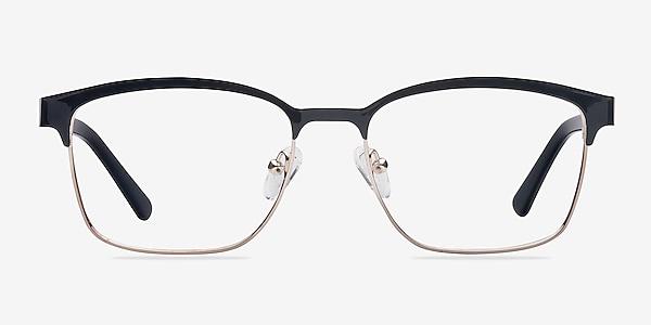 Sublime  Black Golden  Metal Eyeglass Frames