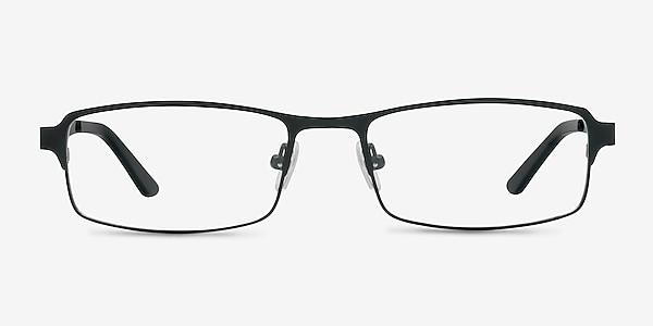 Thomas Matte Black Métal Montures de lunettes de vue
