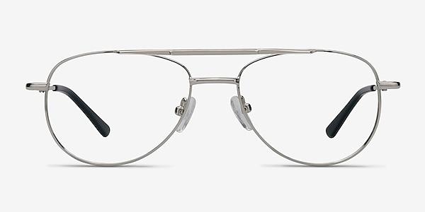 Tasker Argenté Métal Montures de lunettes de vue