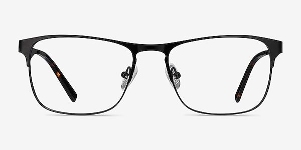Bethnal Green Black Metal Eyeglass Frames
