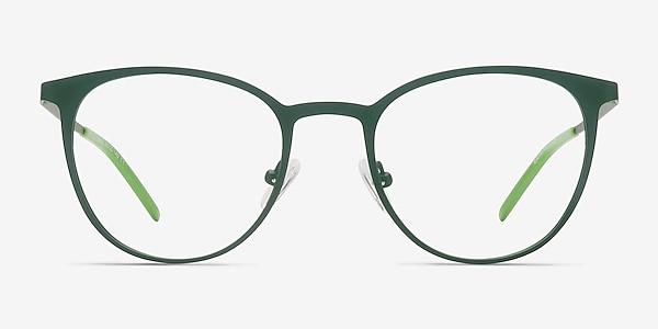 Reunion Matte Green Metal Eyeglass Frames